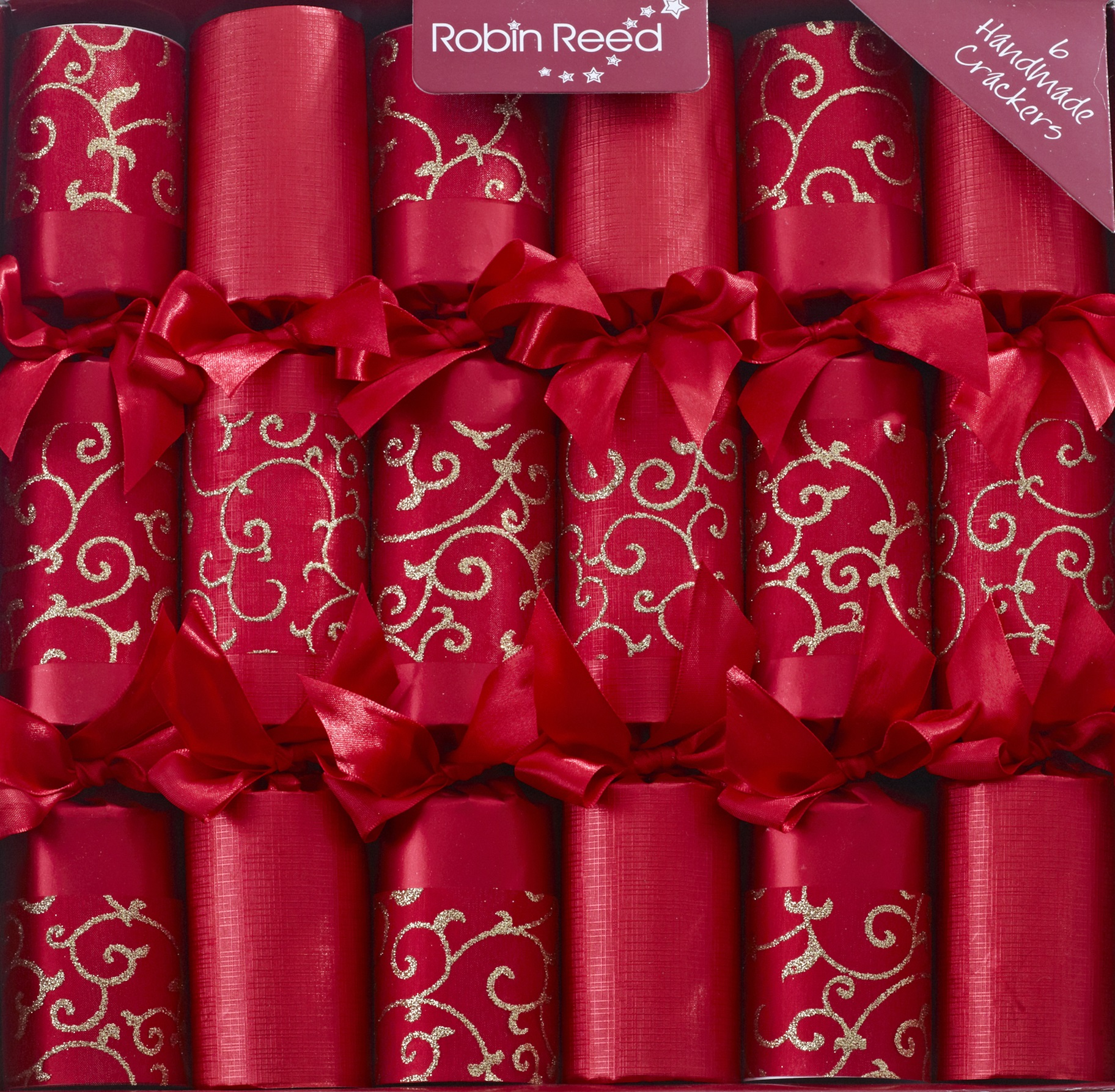 Picture of Christmas Crackers - 6 Designer Christmas Crackers - Emperor