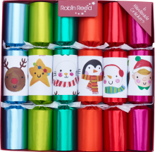 Picture of Christmas Crackers - 6 Christmas Crackers for Children -  Finger Puppets