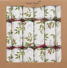 Picture of Christmas Crackers - 6 Christmas Naturally Christmas Crackers - Fill Your Own