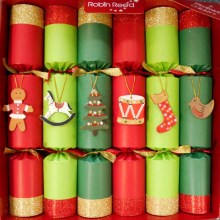Picture of Christmas Crackers - 6 Christmas Crackers for Children - Toy Chest